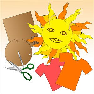 How to make a SUN costume  for Halloween