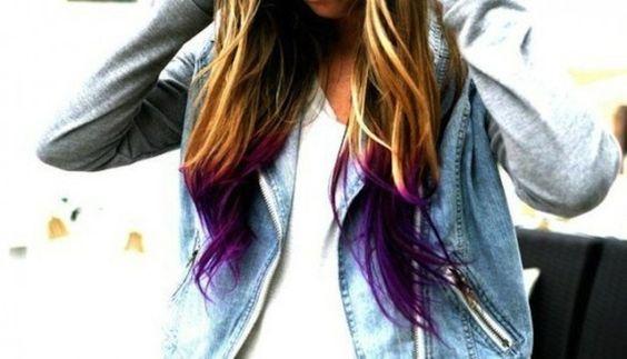 dip-dye-viola-su-capelli-biondo-castano-chiaro.jpg (625×358)