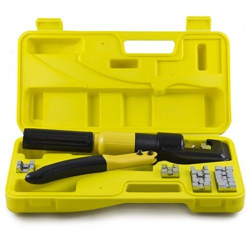 Best Choice Products 10 Ton Hydraulic Wire Battery Cable Lug Terminal Crimper Crimping Tool 9 Dies By Best Choice Products Crimping Tool Crimping Crimper