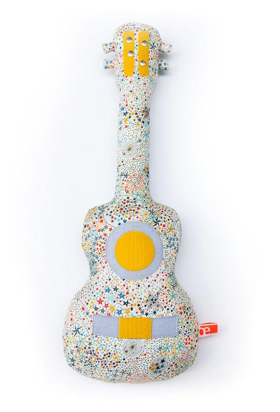 """Imagen del amortiguador * ukulele colección """"Star, tonos multicolores"""""""