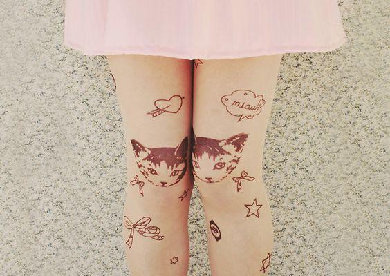 Wishlist: Meias com estampa de tatuagem | Depois dos Quinze | Bruna Vieira