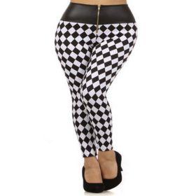 Fabulous black and white leggings
