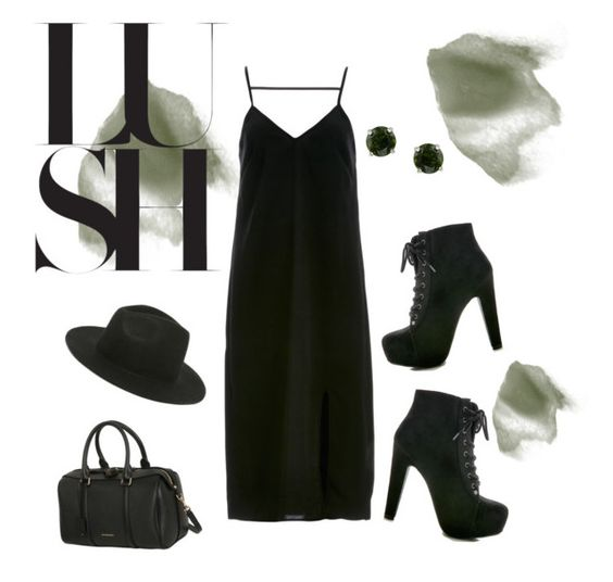 Lush greens by rachel-schramm on Polyvore featuring polyvore, fashion, style, The Fifth Label, Burberry, Glitzy Rocks and RHYTHM