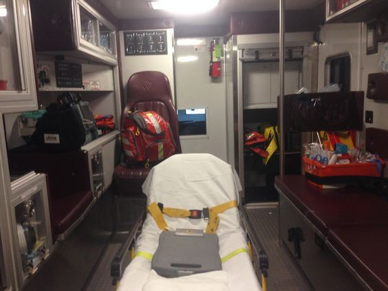 Why Being in the Back of the Ambulance Brings Me Comfort: