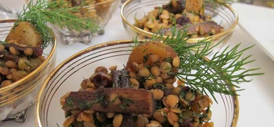 Receita: prepare a saladinha de lentilhas
