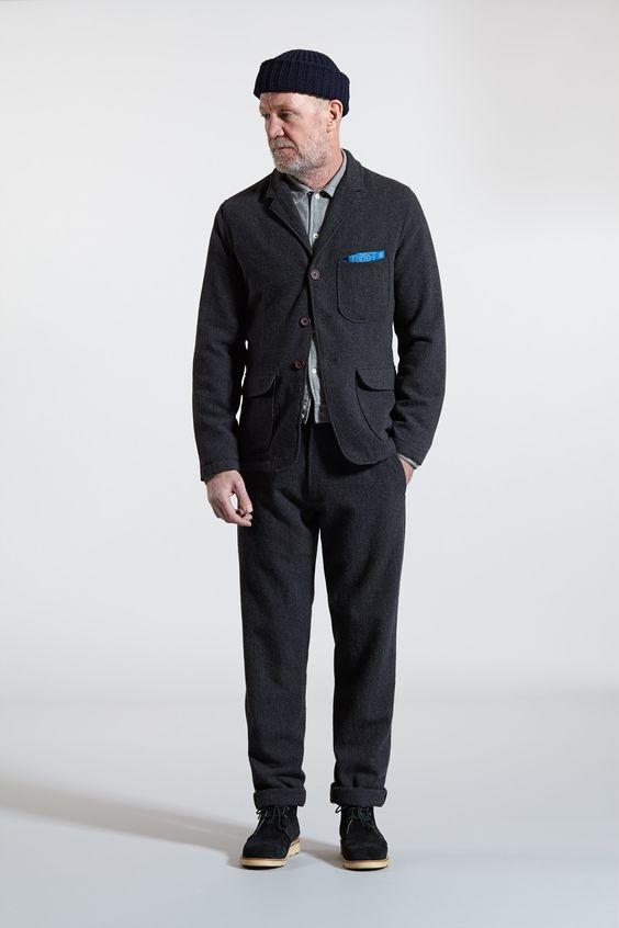 barra jacket uniform shirt aston pant