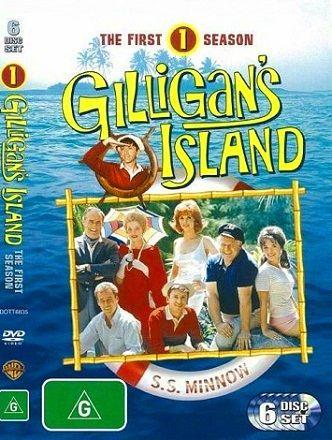 Serie de TV, Comedia, Sitcom familiar: La isla de Gilligan (1964):