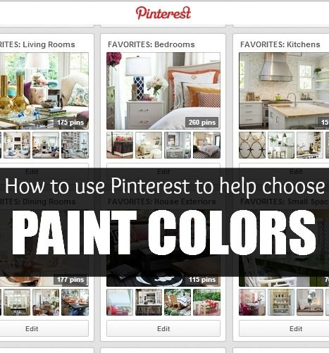 how to use pinterest to help you choose the perfect paint color awesome tips popular pins. Black Bedroom Furniture Sets. Home Design Ideas