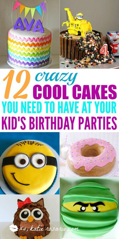 Stupendous 12 Totally Genius Birthday Cakes For Kids Creative Birthday Birthday Cards Printable Giouspongecafe Filternl
