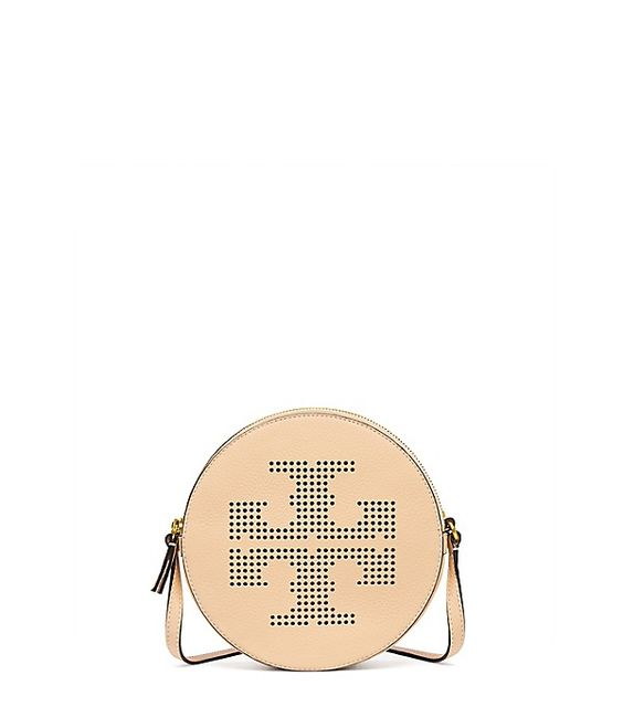 PERFORATED-LOGO CROSS-BODY: