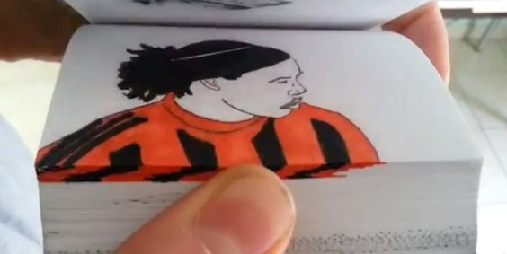 Ronaldinho Flipbook