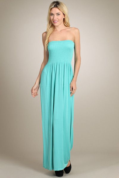 Maxi dress and heels tube