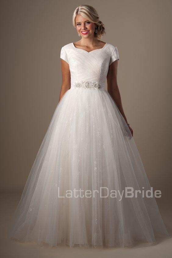Modest wedding dresses marillion latter day bride for Latter day bride wedding dresses