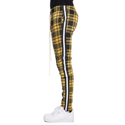 EPTM Men/'s Side Zipper Long Drawstring Bandana track Pants