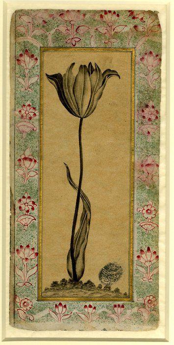 Made in Turkey , 1621.  Ink on paper.  Ottoman School   Ottoman dynasty
