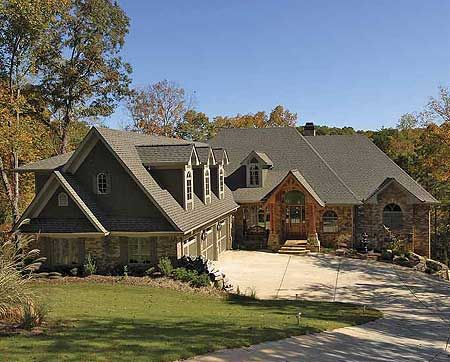 Plan 15663ge Mountain Lodge With Options House Plans