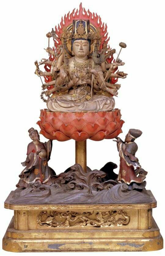 准胝観音 醍醐寺 | 仏像, 仏教, 彫像