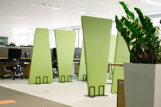 bejot #acoustic #panels #occo #office #design KJC Pinterest - design schallabsorber trennwande