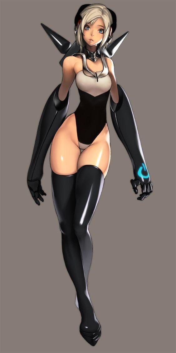 futuristic hentai