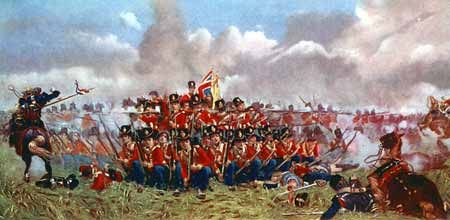 27th REGIMENT OF FOOT (Inniskilling) Batalla de Qatre Bras - 1815. Más en www.elgrancapitan.org/foro