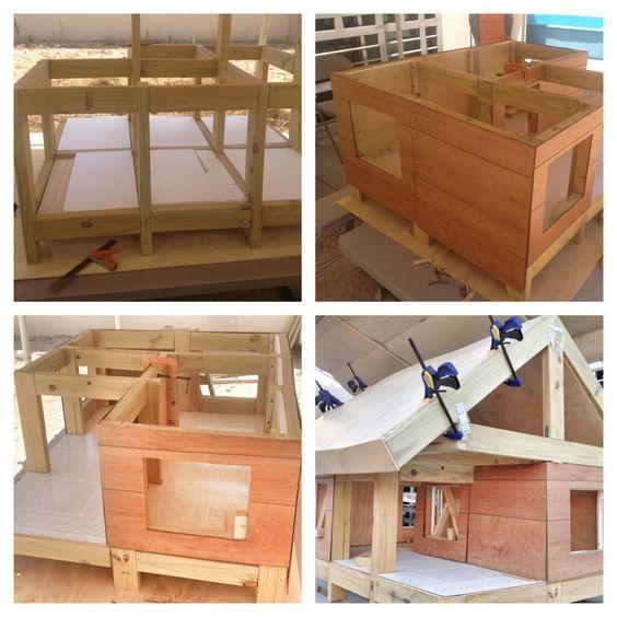 C mo hacer una casa para tu mascota diy dog dog houses - Como acer una casa ...