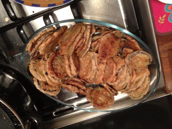 Beignets d 39 aubergines le petit plus j 39 ai assaisonn ma p te beignet farine 1 2 paquet - Pate a beignet avec levure de boulanger ...