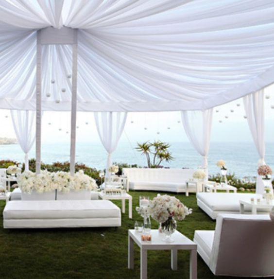 Beach Wedding Reception Ideas: Receptions, Lounges And Wedding Reception On Pinterest