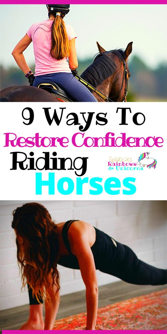 I'm going to share the methods I've used to get over my fears. These are the 9 most powerful ways that I know will help you regain that confidence you desire when you ride horses.