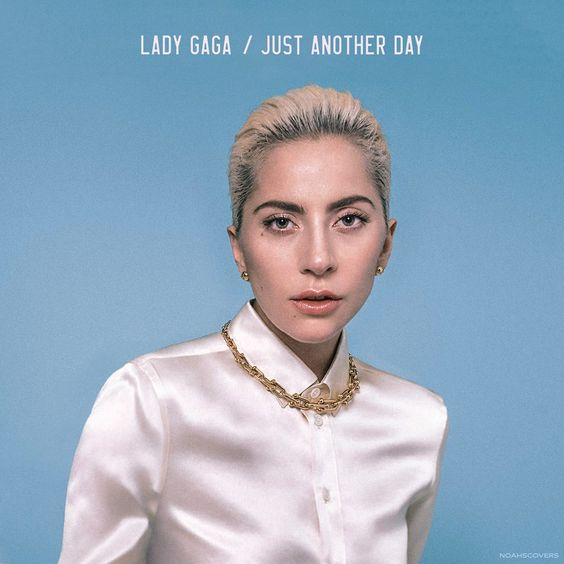 Lady Gaga – Just Another Day (single cover art)
