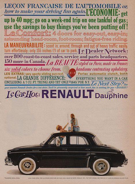 Le Car Hot: Renault Dauphine 1959