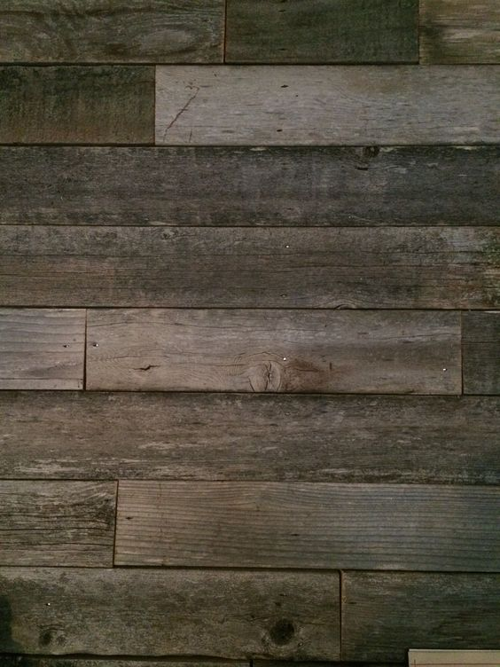 Reclaimed wood we could use