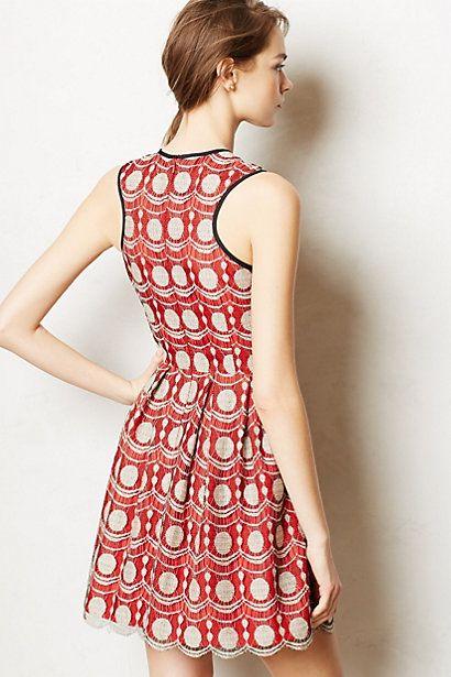 maraschino lace dress #anthropologie
