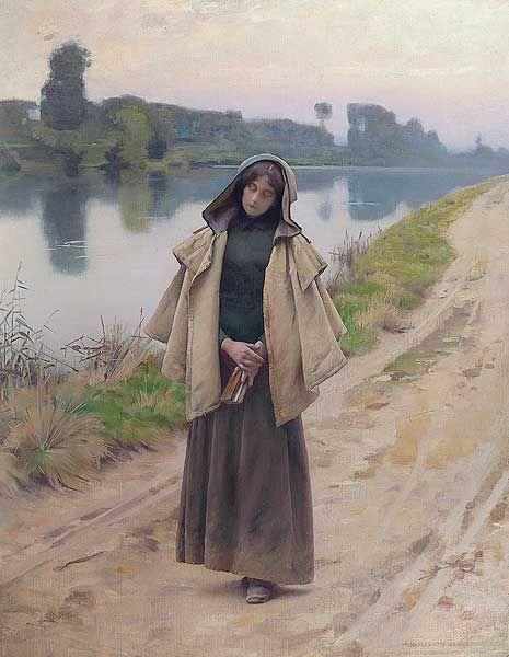 Charles Sprague Pearce (1851 – 1914) – Pintor Americano_7