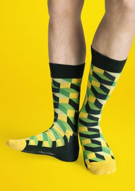 Happy Socks in green