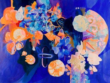 "Saatchi Art Artist Irina Rosenfeldt; Painting, ""THE ORIGIN OF RAIN"" #art"