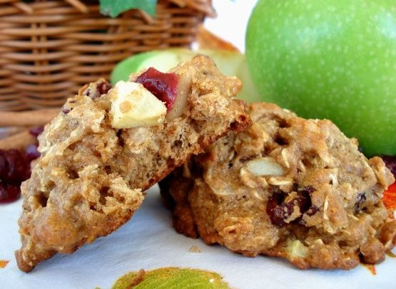Low Fat Apple-Cranberry Breakfast Cookies Recipe - Food.com