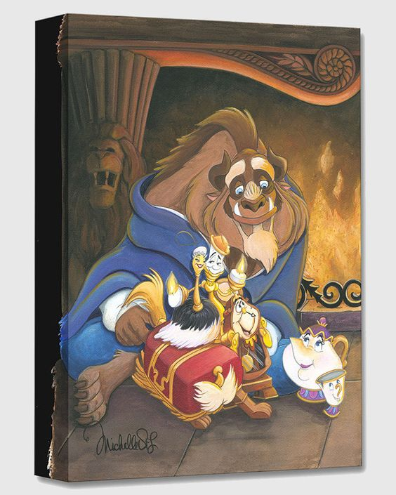 "Disney ""Family of Enchanted Things"" Limited Canvas1500 