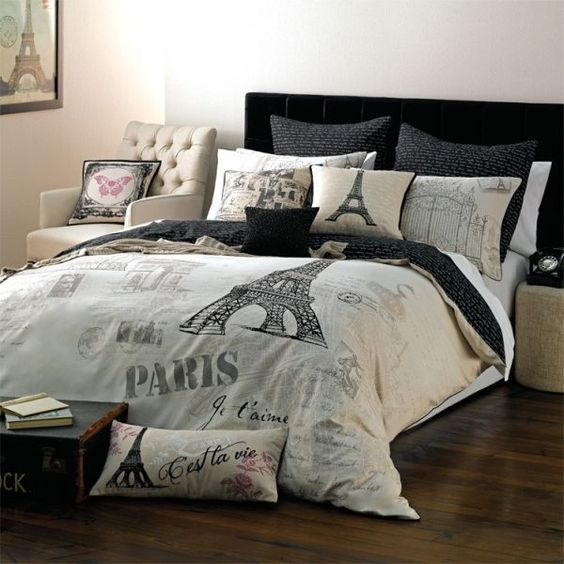 Paris Themed Bedding For Adults