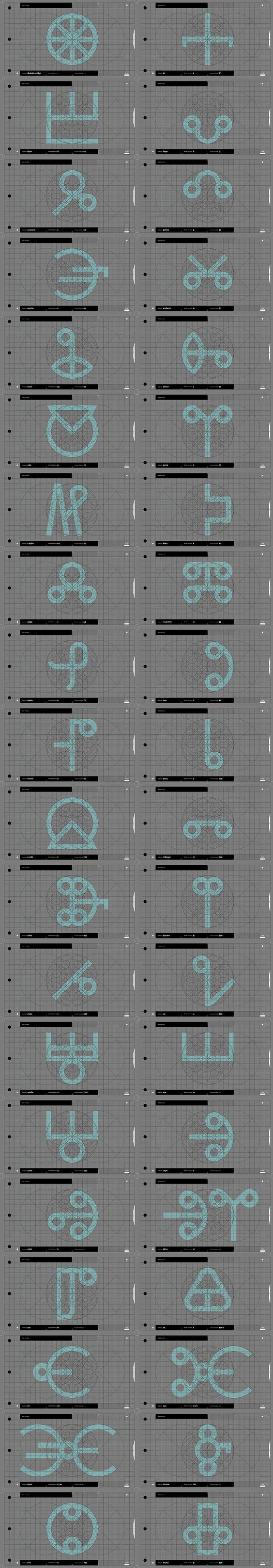 9 learn the glagolica alphabet