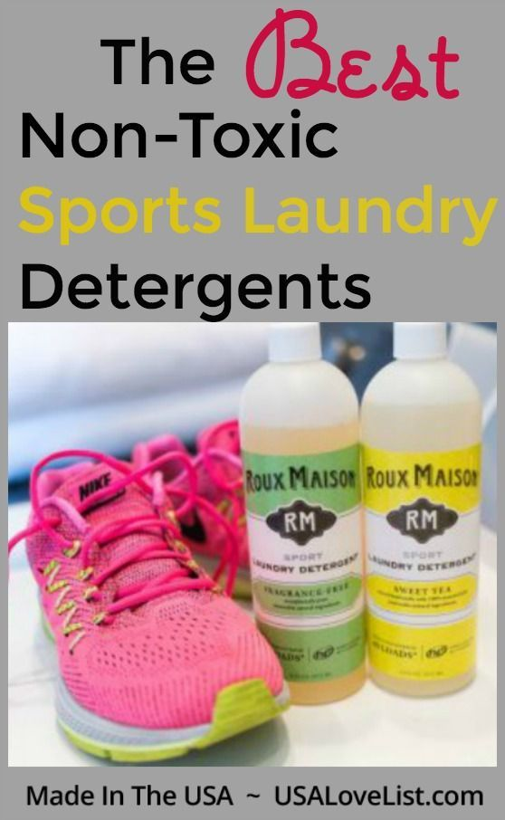 Best Non Toxic Sports Laundry Detergents Specially Formulated To