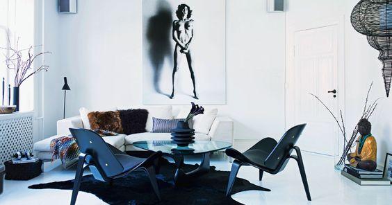 living room - Stor stil på lidt plads | Boliger | BO BEDRE