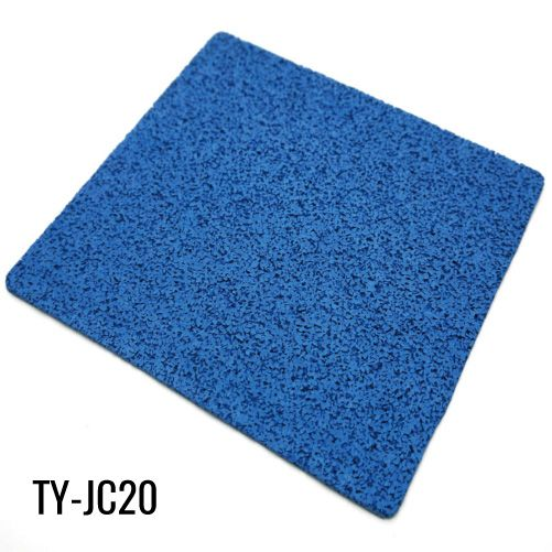 10mm Durable Blue Virgin Rubber Rollers Gym Flooring Gym Flooring Gym Flooring Rubber Flooring