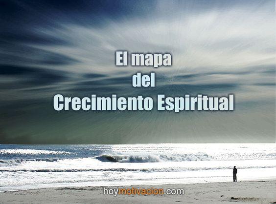 El mapa del crecimiento espiritual.  hoymotivacion.com