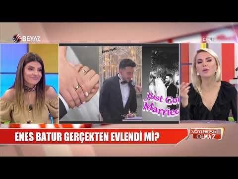 Enes Batur Gercekten Evlendi Mi Gercekler Kadin