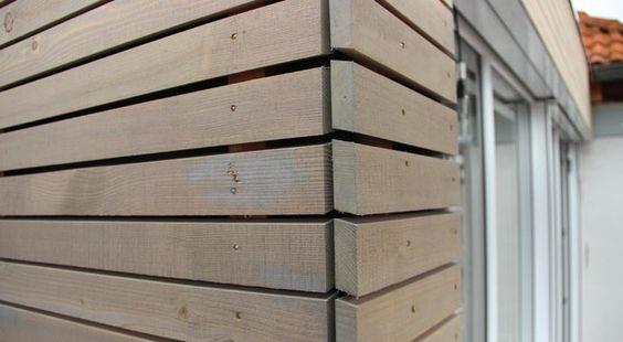 ... mit Holzverschalung aus Lärche | Ideen rund ums Haus | Pinterest