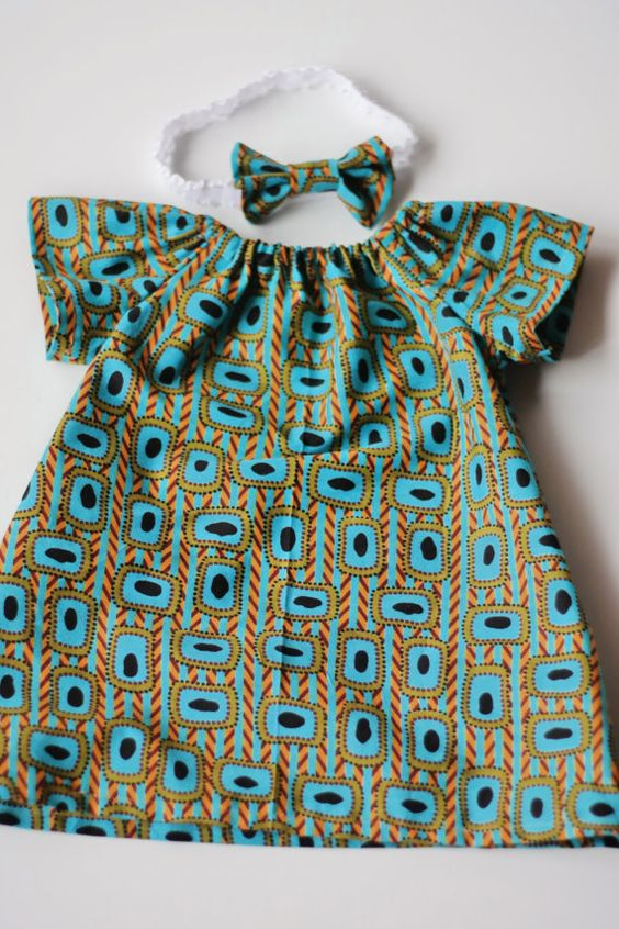African clothing  Dress for Girls  African by AdorablyAfrican