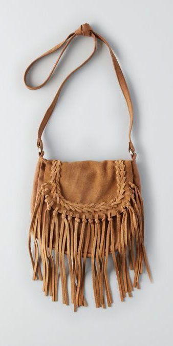 American Eagle Outfitters AEO Fringe Crossbody Tote