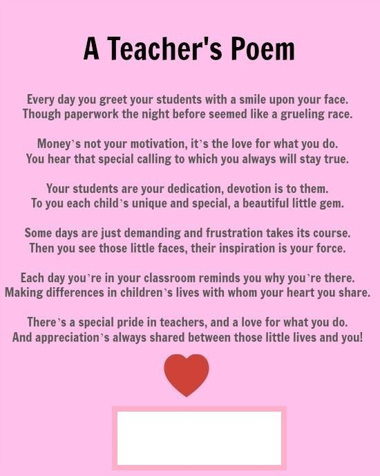 Pin on Teachers appreciation ideas