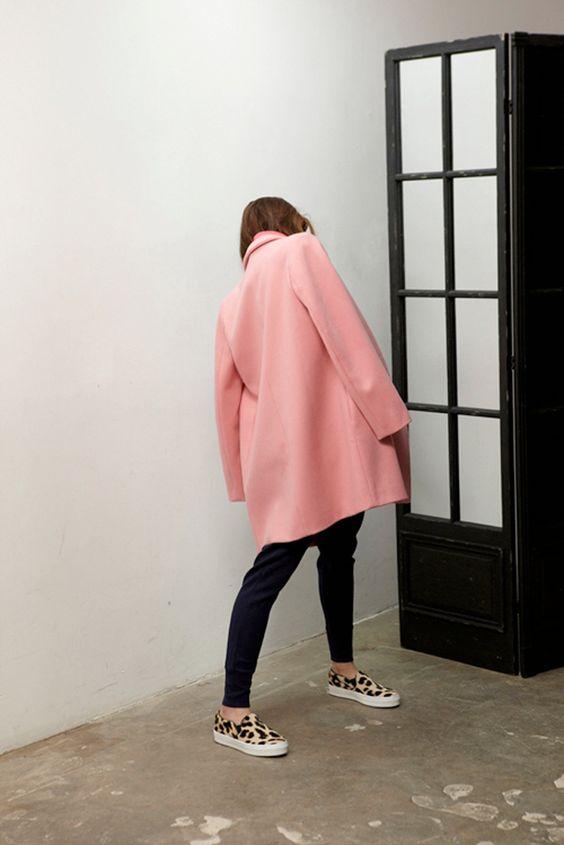 Studio Nicholson pink coat