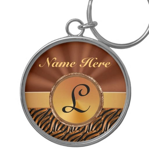 """Monogrammed Keychains for Women, Elegant Keychain.  Personalization Gifts  Make a statement with Customizable Gifts with YOUR PHOTOS and or TEXT. http://www.zazzle.com/littlelindapinda/gifts?cg=196011228045420884&rf=238147997806552929    Easy to use Templates.  Click """"Change"""" to Upload YOUR PHOTO  and type in YOUR TEXT into the TEXT BOX(es).  ALL of Little Linda Pinda Designs CLICK HERE: http://www.Zazzle.com/LittleLindaPinda*"""